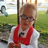 Photo #2 - He is starting to get this candy thing figured out! KFC Colonel Sanders