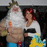 Photo #1 - King Triton and the Little Mermaid