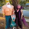 Photo #1 - King Triton, Ursula and our Little Mermaid