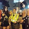 Photo #3 - KISS with LA cop fan