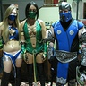 Photo #2 - Kitana, Jade, & Subzero