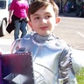 Photo #7 - My Knight in Shining Armor! It works without the helmet too.