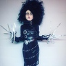 Photo #4 - Beetlejuice Dull scissors, cardboard and tinfoil fingers, belts and a plastic bag. Voila!