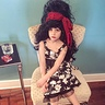 Photo #6 - Amy Winehouse A found wig I was able to style perfectly (pat on the back) A good friends steady hand winging the liner, real Winehouse temporary tattoos from London.
