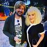 Photo #1 - Kurt Cobain and Courtney Love