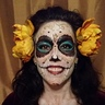 Photo #2 - La Muerta face paint