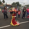 Photo #2 - She took it to the Fall festival school parade