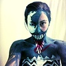Photo #1 - Full body art lady venom