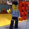 "Photo #1 - Lego ""Bad Guy"" at the Lego Store"