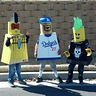 Photo #1 - Tomahawk Warrior  Lego, Matt Kemp Lego & Punk Rocker Lego.