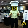 Photo #3 - Lego Helmet - It fits!