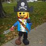 Photo #0 - Kylan the Lego Mini Figure Pirate