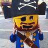 Photo #2 - Lego Mini Figure Pirate