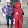 Photo #2 - The Lego Ninja and his cowgirl sister.