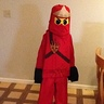 Photo #2 - LEGO Ninjago - Red Ninja Costume