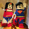 Photo #1 - LEGO Superman & Wonder Woman!