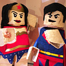 Photo #2 - LEGO Superman & Wonder Woman