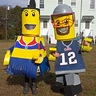Photo #1 - lego tom brady and patriots cheerleader lego