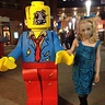 Photo #2 - Lego zombie boy and little zombie sister.