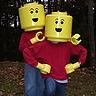 DIY Lego Minifigs Costume