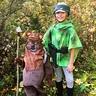 Photo #1 - Leia and Ewok