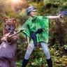 Photo #2 - Leia and Ewok