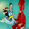 Photo #1 - Life Aquatic with Jacques Cousteau Baby Scuba Diver, The Ocean, and Giant Squid