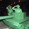 Photo #1 - Green Army Men Salute