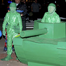 Photo #2 - Green Army Men Take Over Downtown Portsmouth