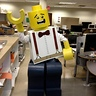 Photo #4 - Suspender LEGO excited for the night!