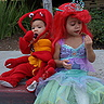 Photo #3 - Ariel and Sebastian costumes