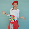 Photo #4 - Mama as Lisa Frank Gumball Machine