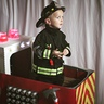 Photo #2 - Little Firefighter and His Truck
