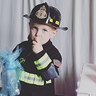 Photo #8 - Little Firefighter and His Truck