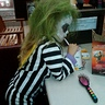 Photo #2 - Beetlejuice still has to eat!