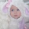 Photo #1 - Harper Mae, the cutest little lamby lamb.