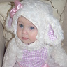 Photo #2 - Harper Mae, the cutest little lamby lamb.