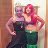 Photo #1 - Little Mermaid Ariel and Ursula