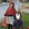 Photo #1 - Little Red Riding Hood and the Werewolf who took a bite out of her