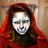 Photo #3 - Little Red Riding Wolf Crazy eyes