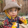 Photo #2 - Beautiful Blue eyed scarecrow