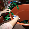 Photo #6 - Attaching Vines to Audrey's Pot