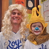Photo #6 - Sluggerrr at school with the Principal