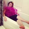 Photo #1 - just casually chillin in a bathtub
