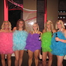 Loofah Girls - creative costume idea for group