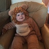 Photo #1 - Happy lion in his chair