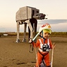 Photo #1 - Luke Skywalker and AT-AT