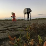 Photo #3 - Distance shot of Luke and AT-AT