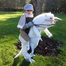Photo #1 - Anthony as Luke Skywalker riding his tauntaun