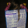 Photo #2 - Back of costume ~ Nutrition Facts